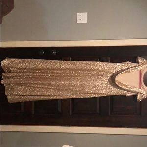 Dresses & Skirts - Sorella Vita Gold sequin dress